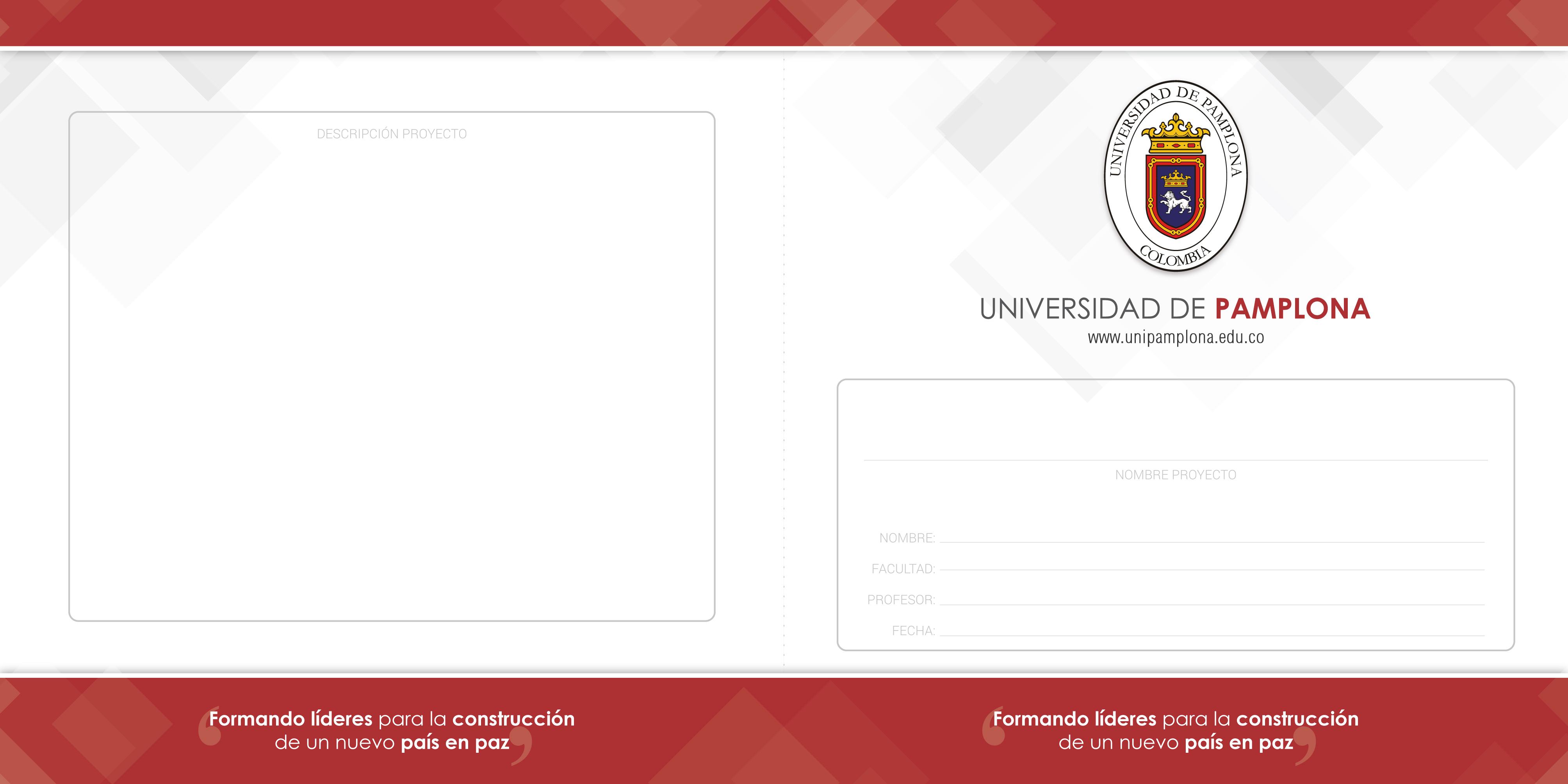 Universidad de Pamplona - Recursos de Imagen Corporativa